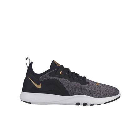 Nike Flex TR9 fitnessschoenen dames antraciet/goud