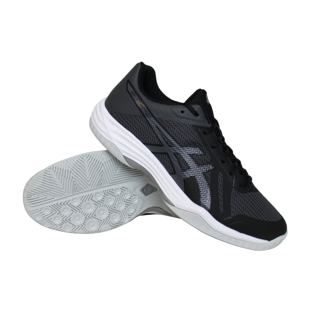 Asics Gel-Tactic indoorschoenen heren zwart/wit