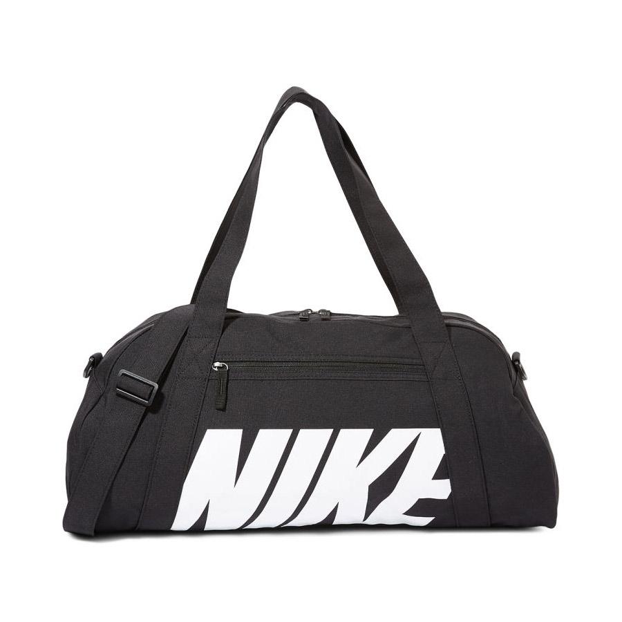 Nike Gym Club sporttas unisex zwart/wit