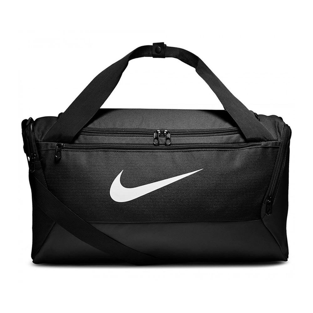 Nike Brasilia Small Duffel sporttas zwart/wit