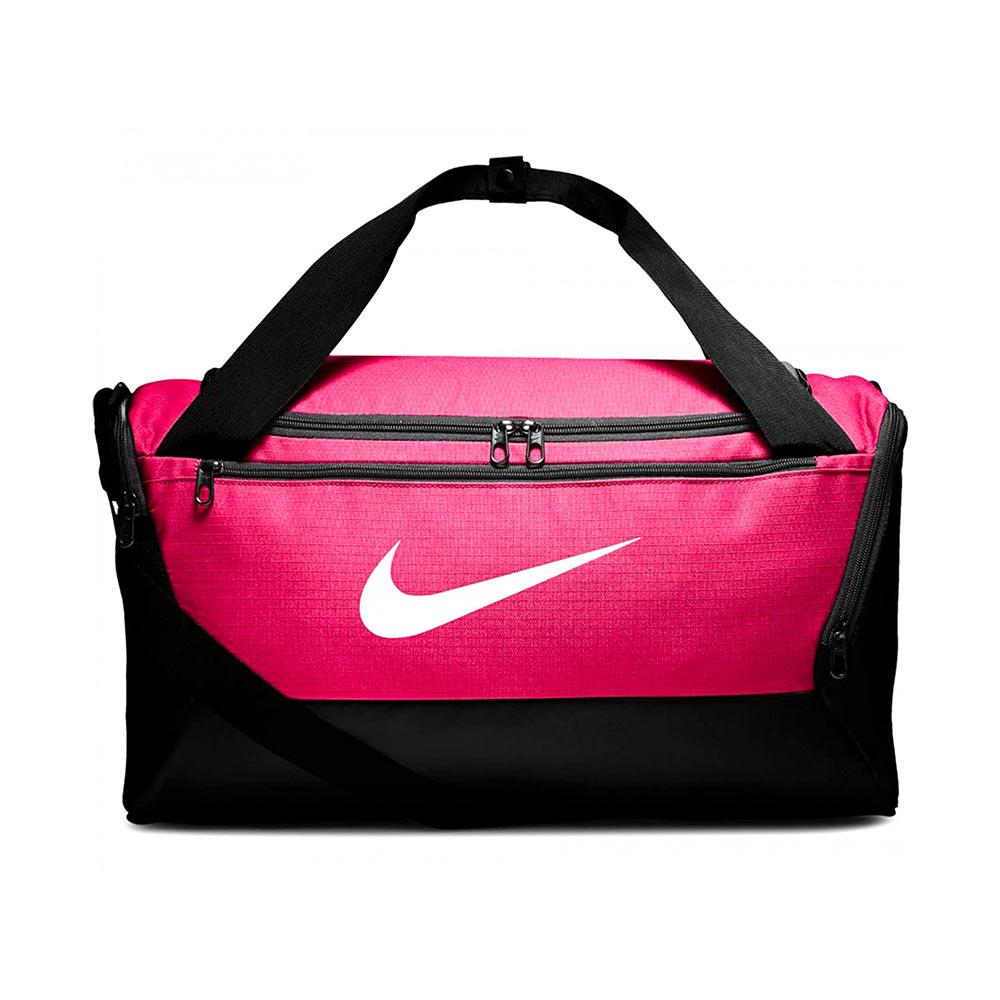 Nike Brasilia Small Duffel sporttas roze/zwart
