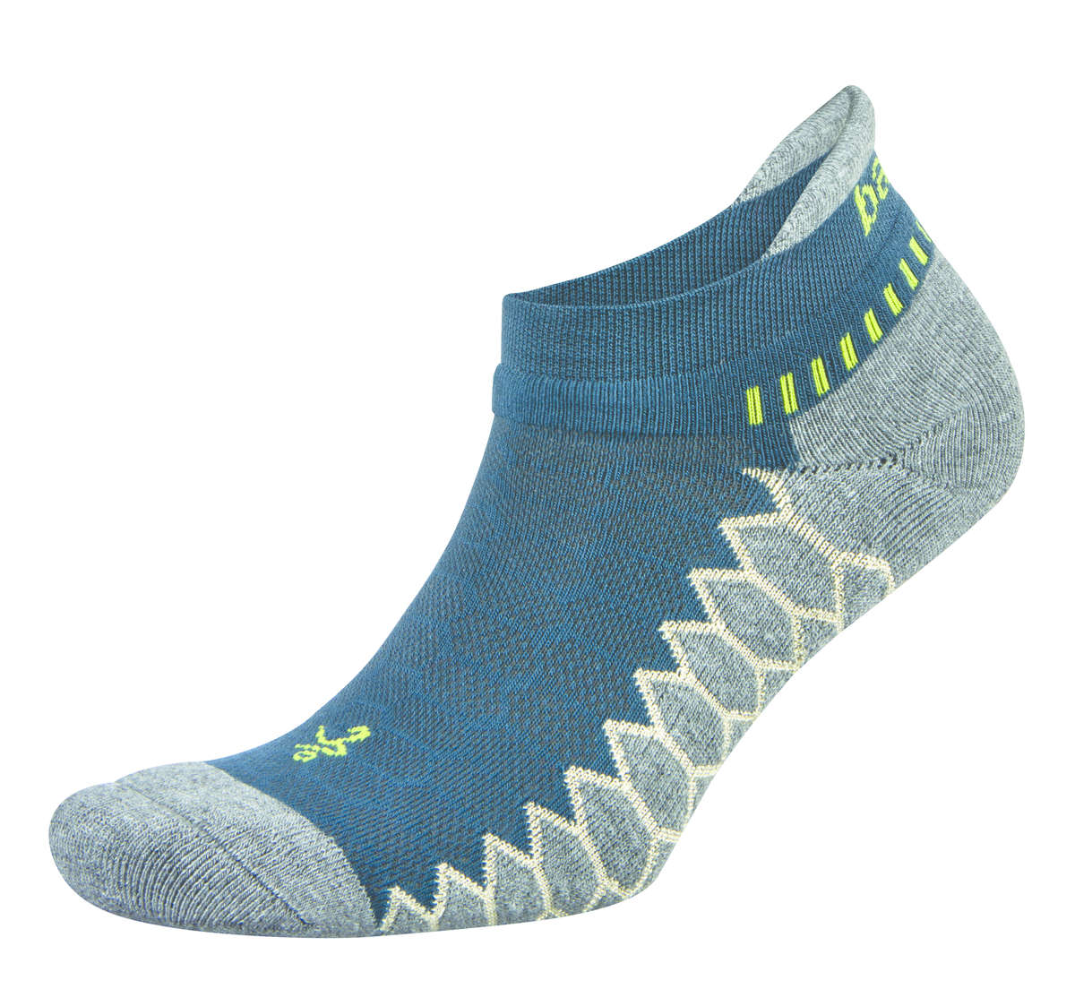 Balega Silver Sportsok Blauw/Grijs - XL