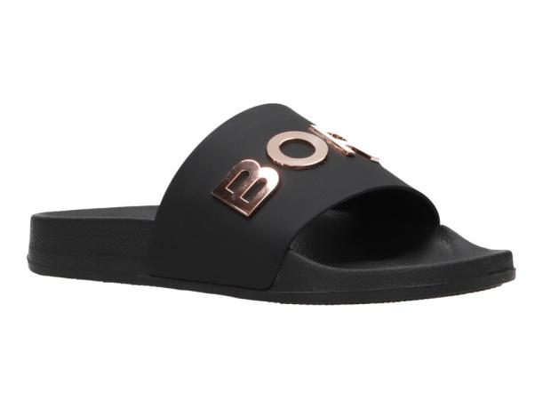 Bjorn Borg slippers Knox zwart/brons