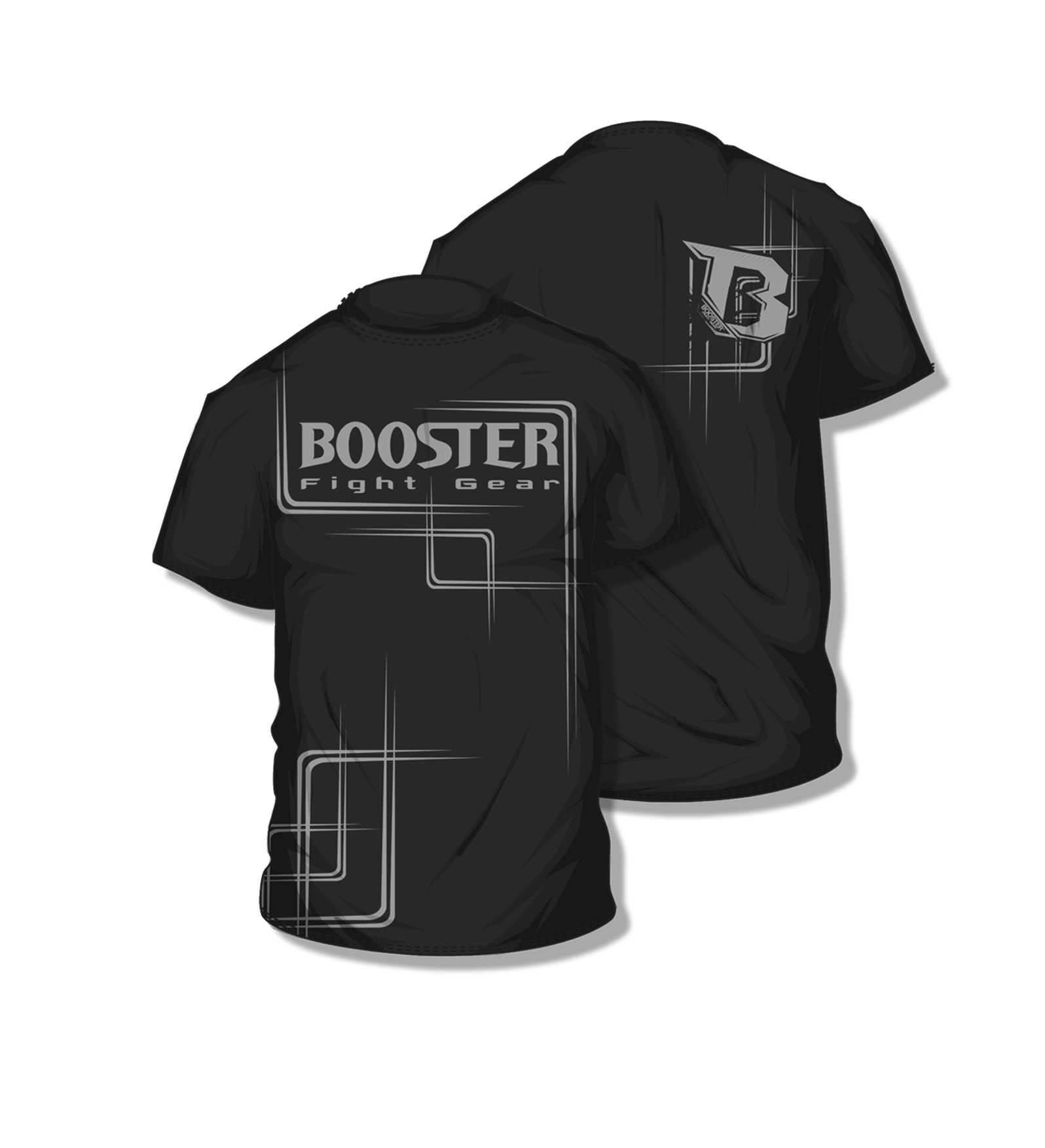 Booster  BC Walk out shirt black - M