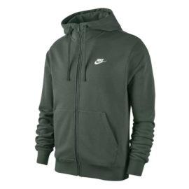 Nike Sportswear Club FZ vest heren donker groen