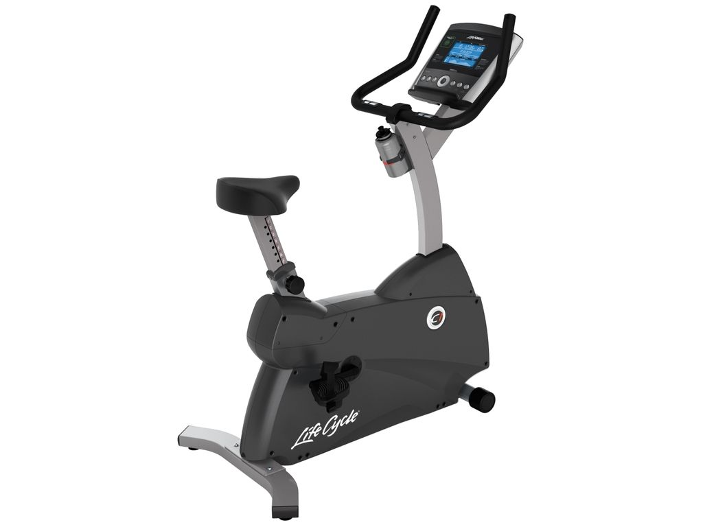 Life Fitness  C1 Upright Lifecycle Exercise Hometrainer - Base met Go Paneel
