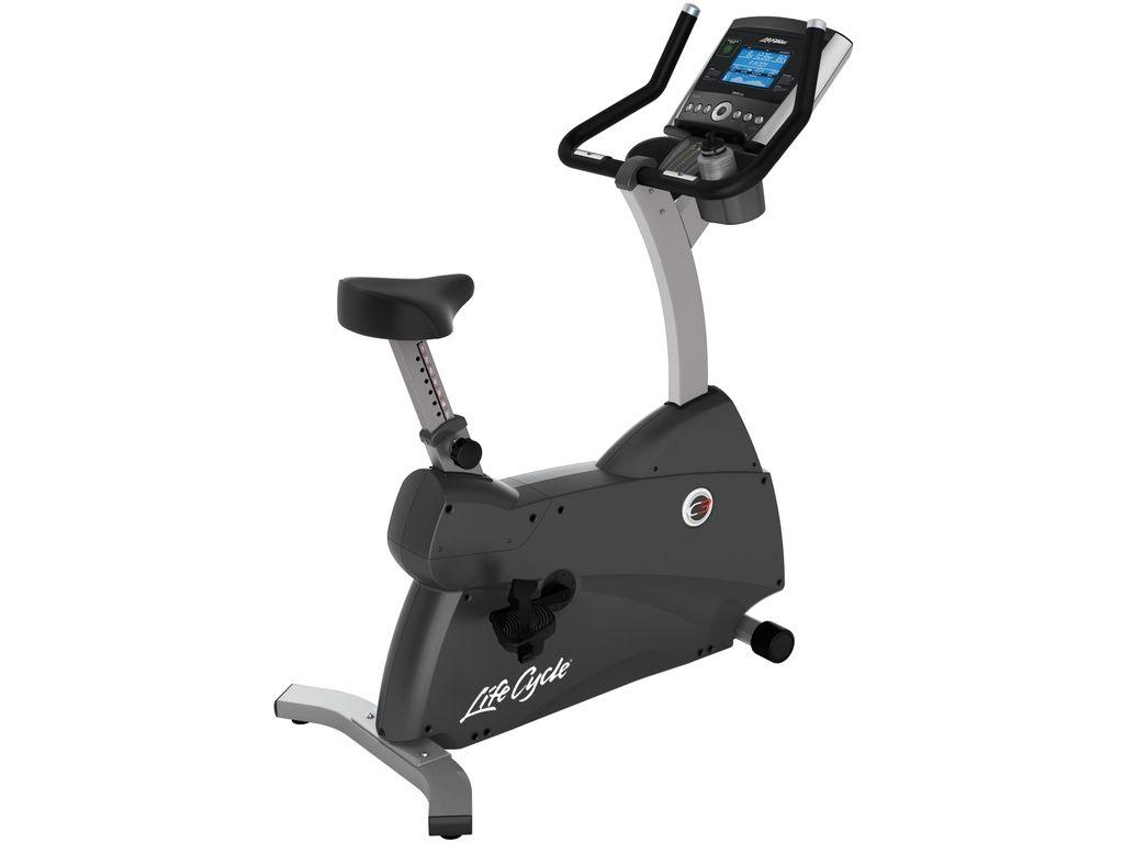 Life Fitness  C3 Upright Lifecycle Exercise Hometrainer - Base met GO Paneel