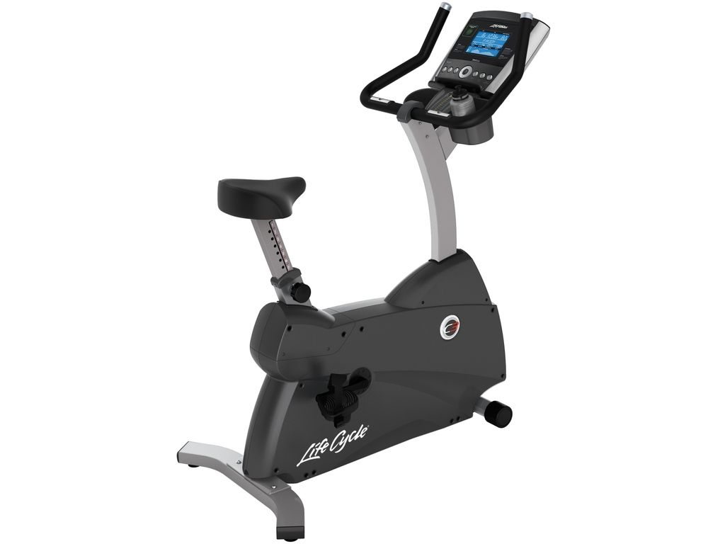 Life Fitness  C3 Upright Lifecycle Exercise Hometrainer - Base met Track+ Paneel