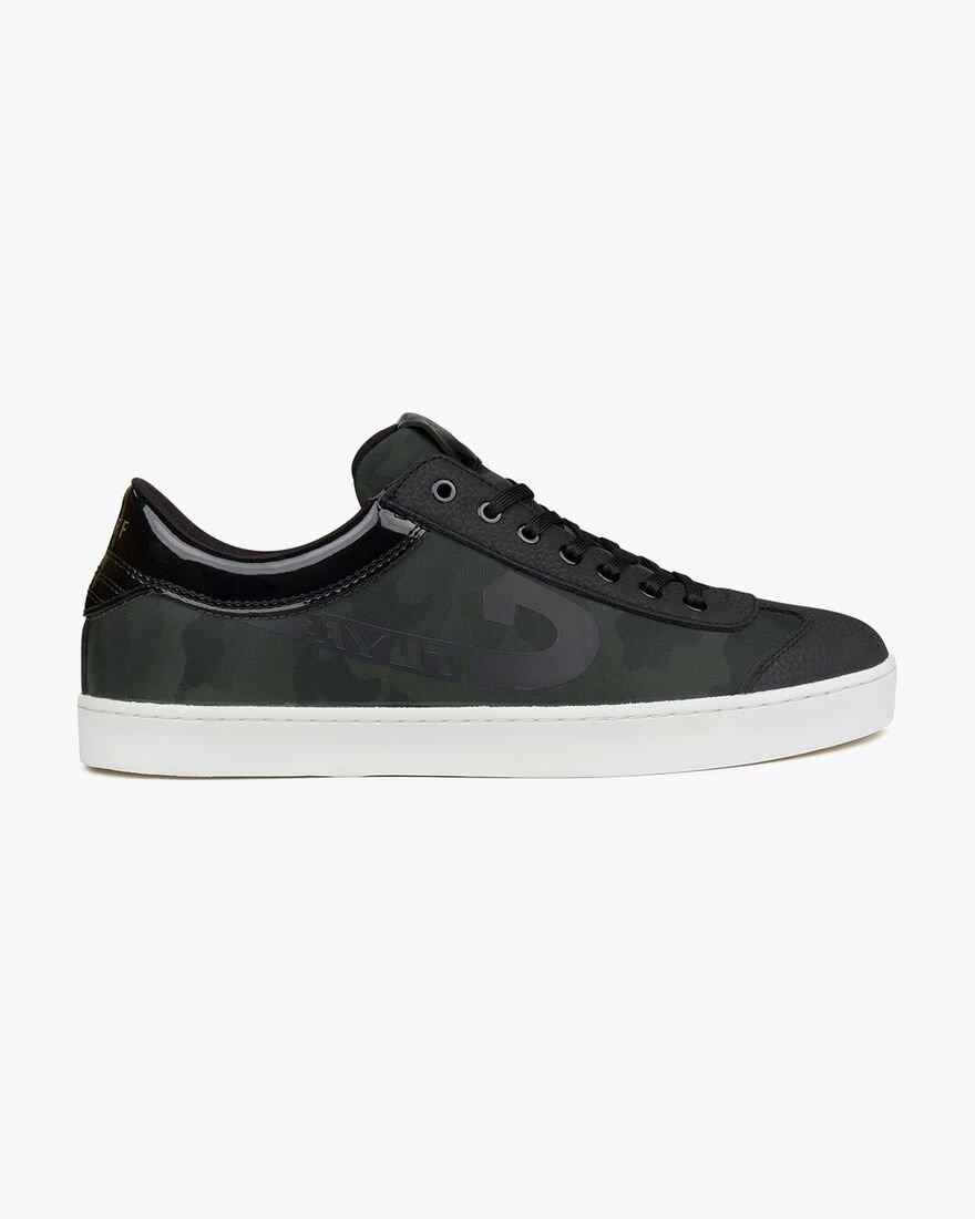 Cruyff Flash sneakers heren groen/zwart