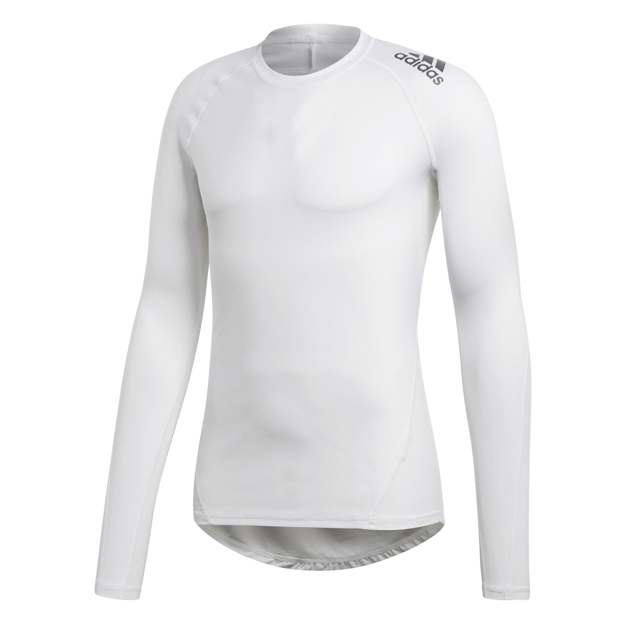 Adidas Alphaskin LS thermoshirt heren wit