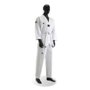 Adidas Taekwondopak Club Wit Revers