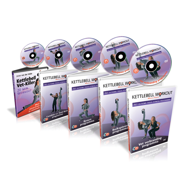 Kettlebell workout DVD