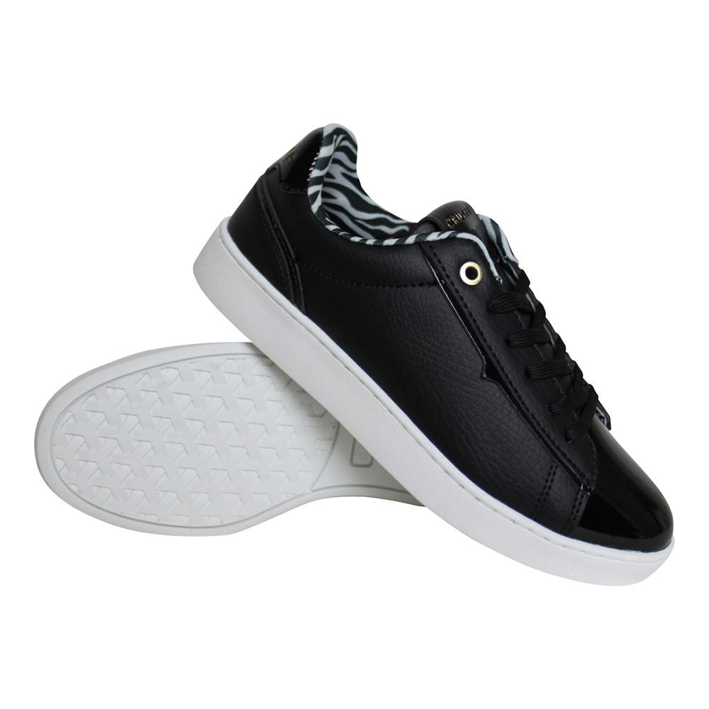 Cruyff Challenge sneakers dames zwart/wit