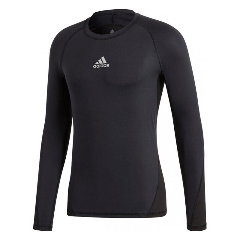 adidas AlphaSkin LS thermoshirt heren zwart