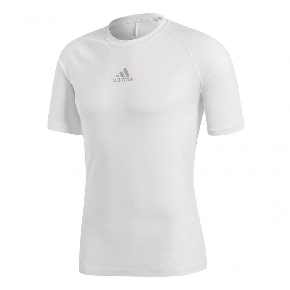 adidas AlphaSkin SS thermoshirt heren wit
