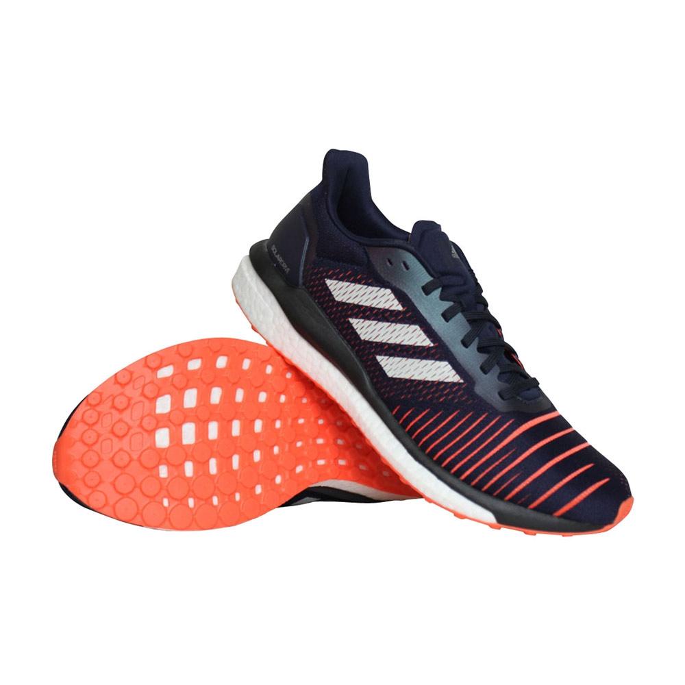 adidas Solar Drive hardloopschoenen heren marine/oranje/wit