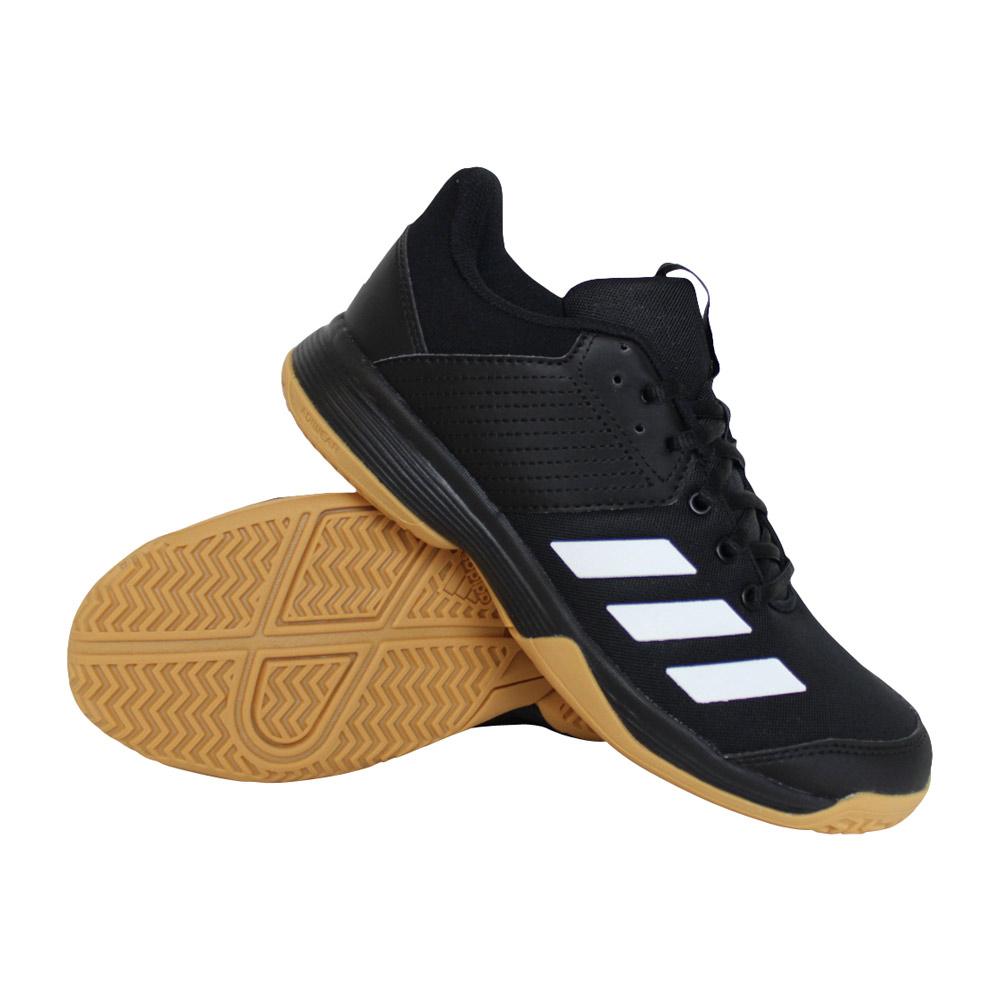 adidas Ligra 6 indoorschoen kids zwart/wit