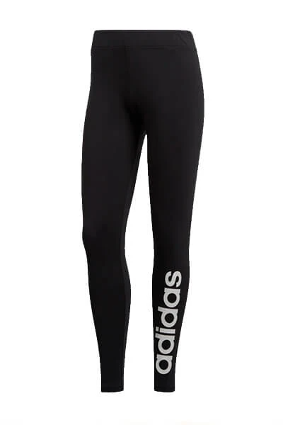 adidas Essential Linear tight zwart