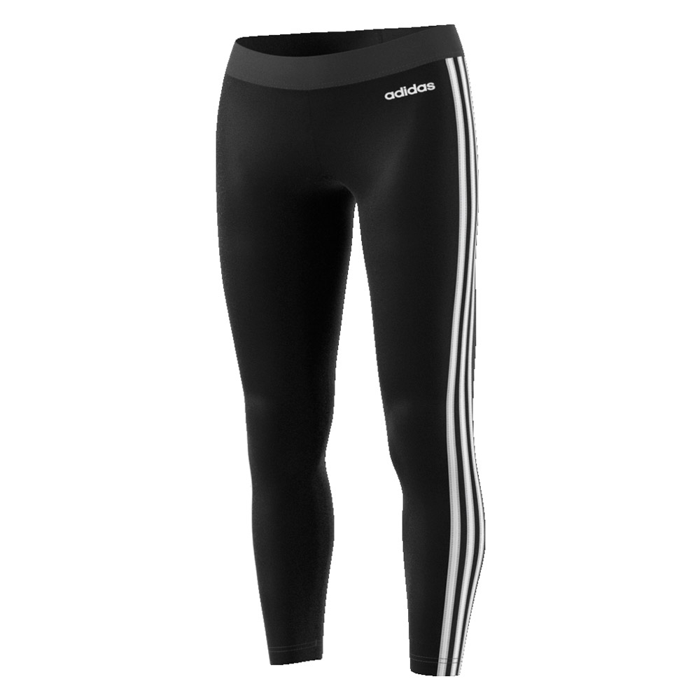 adidas Essentials 3-Stripes tight dames zwart/wit