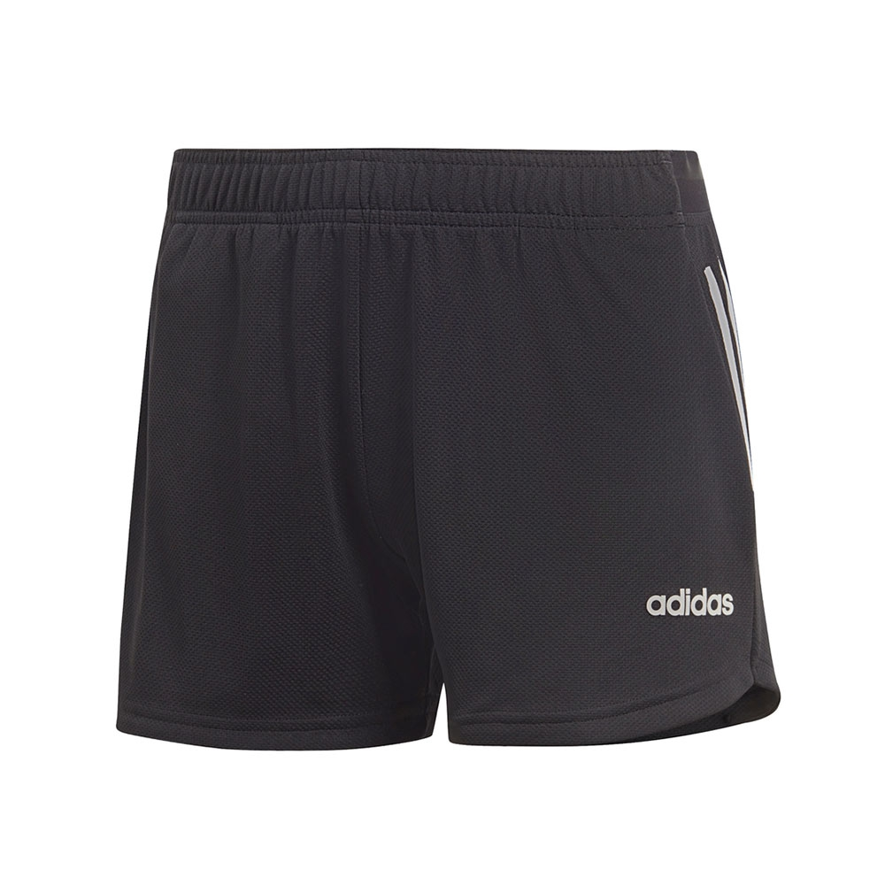 adidas 3-stripes short dames zwart/wit