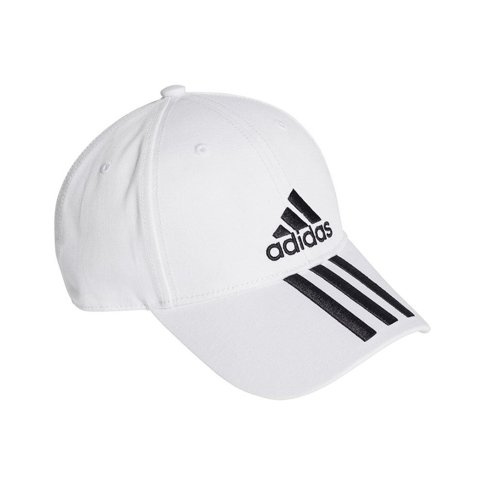 adidas Classic Six-Panel cap wit/zwart