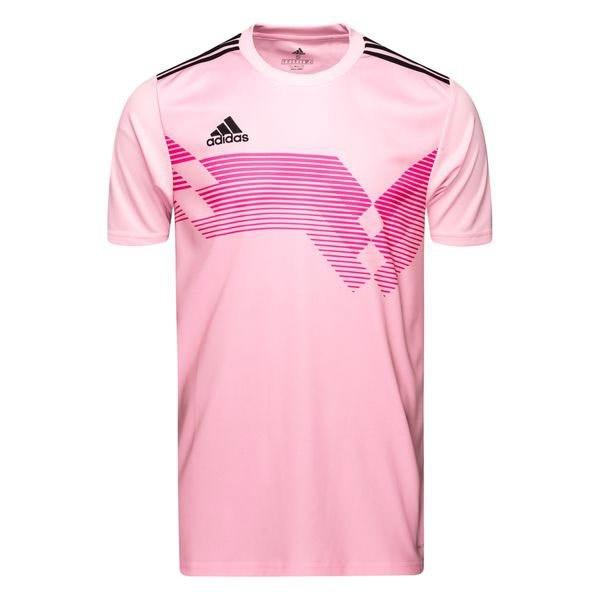 adidas Campeon 19 shirt heren roze/zwart