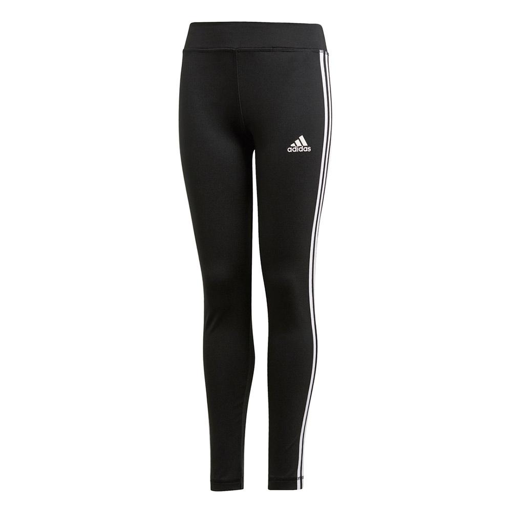 adidas 3-Stripes Training tight meisjes zwart/wit