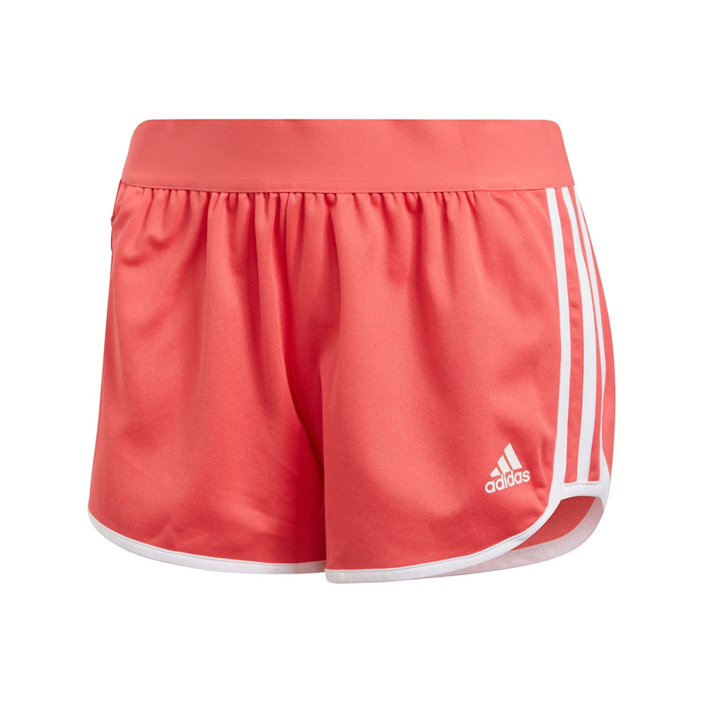 adidas ID M10 Athletics short dames roze/wit