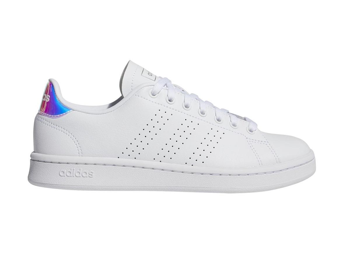 adidas Advantage sneakers dames wit/zilver