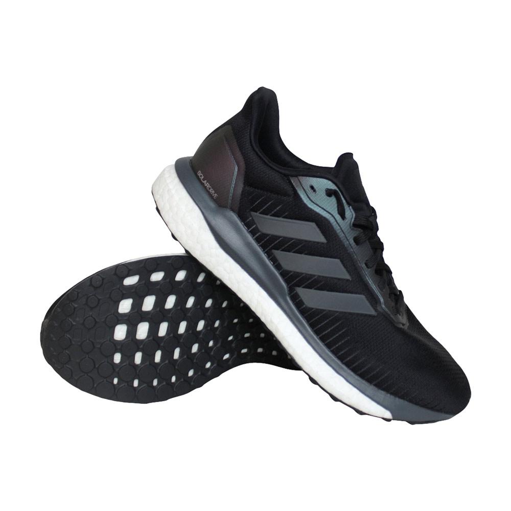 adidas Solar Drive 19 hardloopschoenen heren zwart/grijs