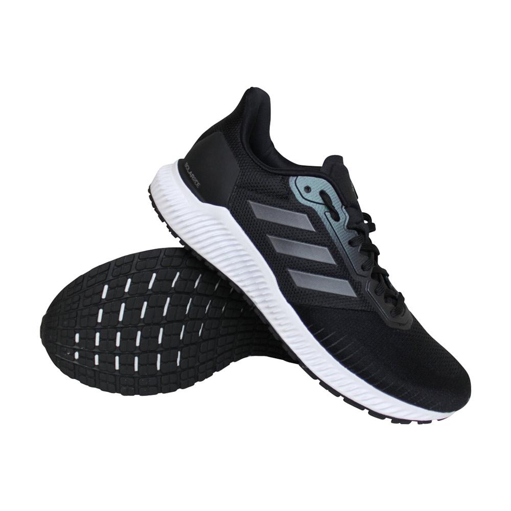 adidas Solar Ride hardloopschoenen dames zwart/wit