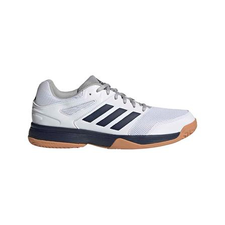 adidas Speedcourt indoorschoenen heren wit/marine