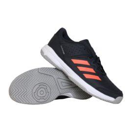 adidas Court Stabil indoorschoenen jongens antraciet