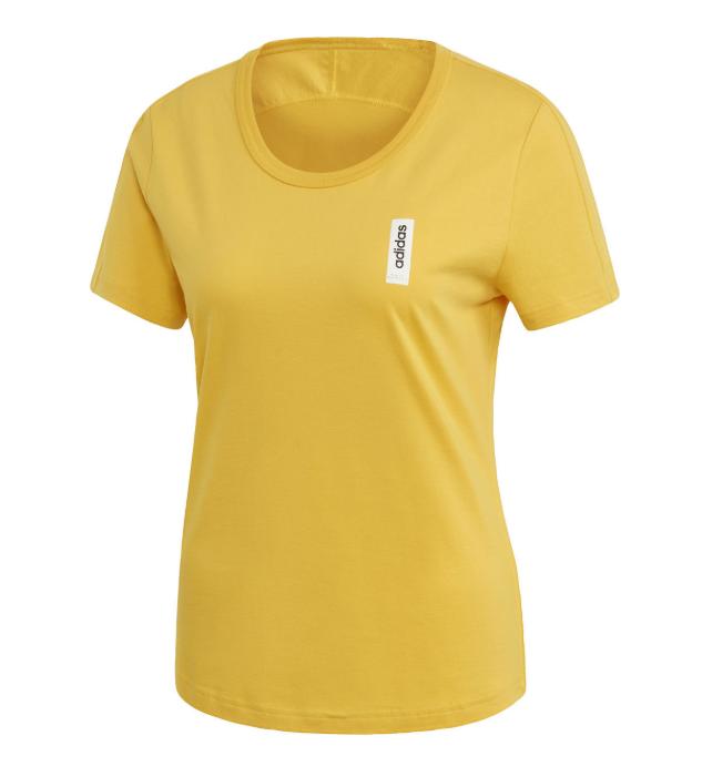 adidas Brilliant shirt dames geel