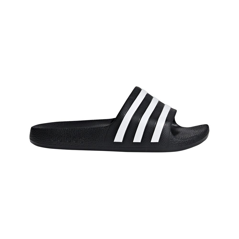 adidas Adilette Aqua slippers kids zwart/wit