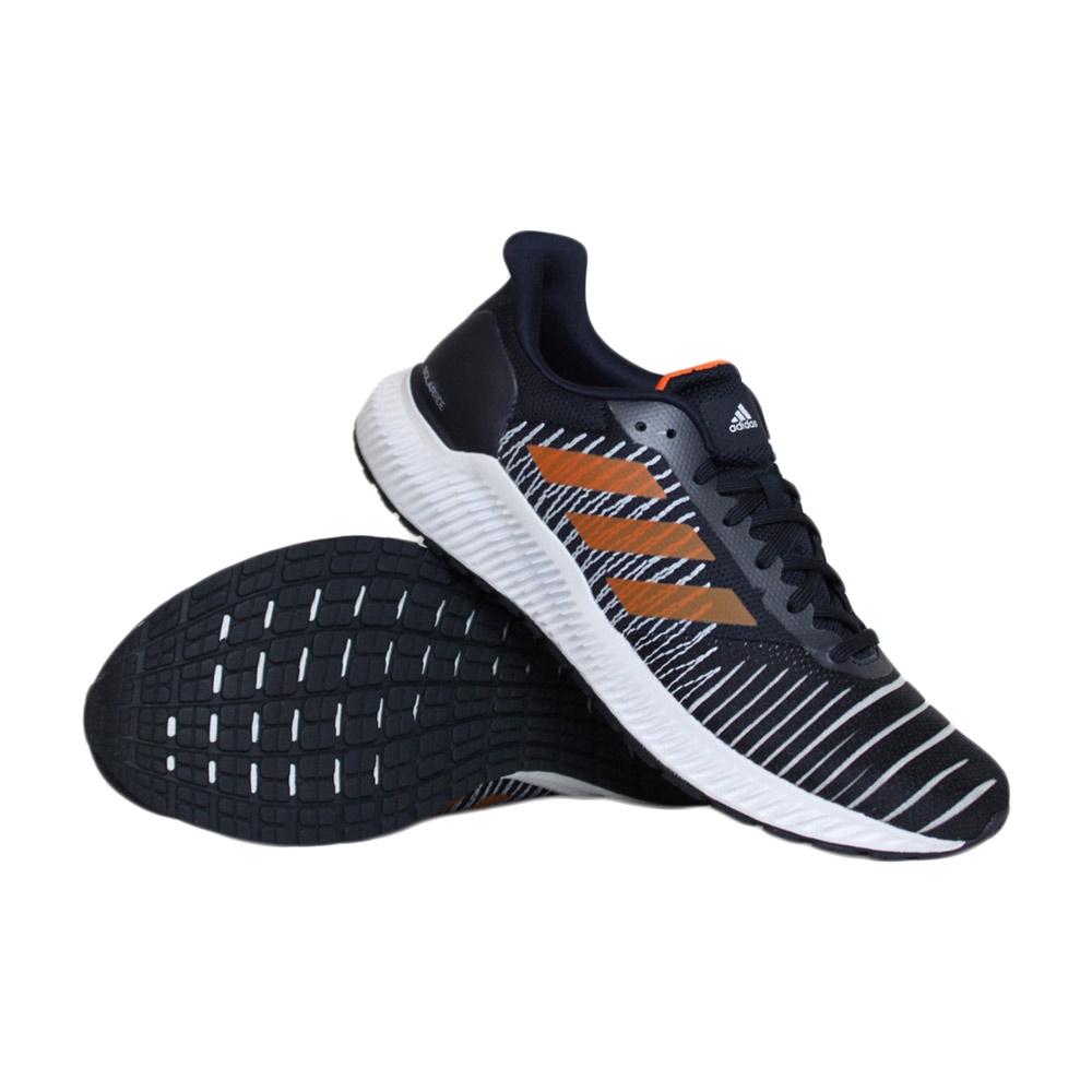 adidas Solar Ride hardloopschoenen heren marine/oranje