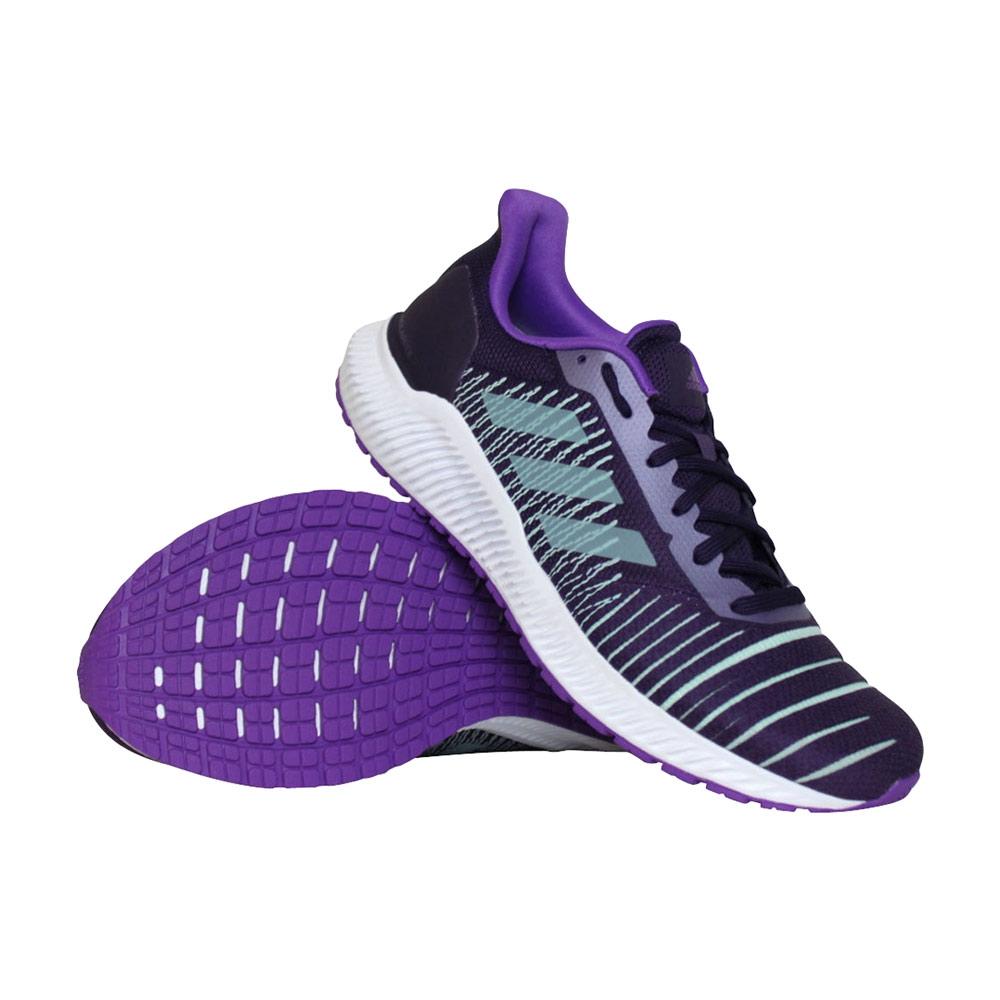 adidas Solar Ride hardloopschoenen dames paars/turquoise