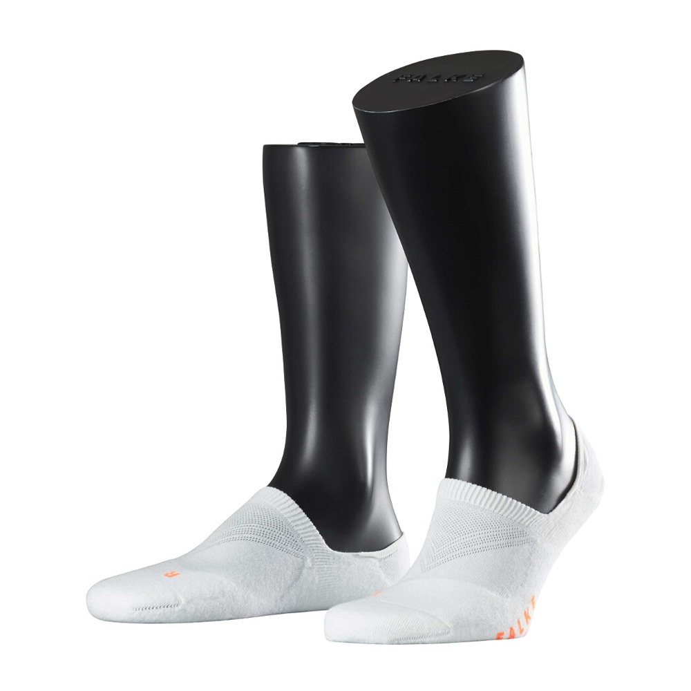 Falke Cool Kick Invisible sokken wit