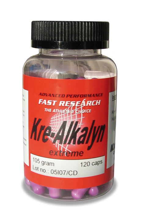 Fast Research Supplement Kre-Alkalyn Creatine Capsules