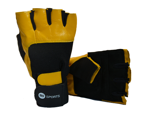 RS Sports Fitnesshandschoen met polsbanden S