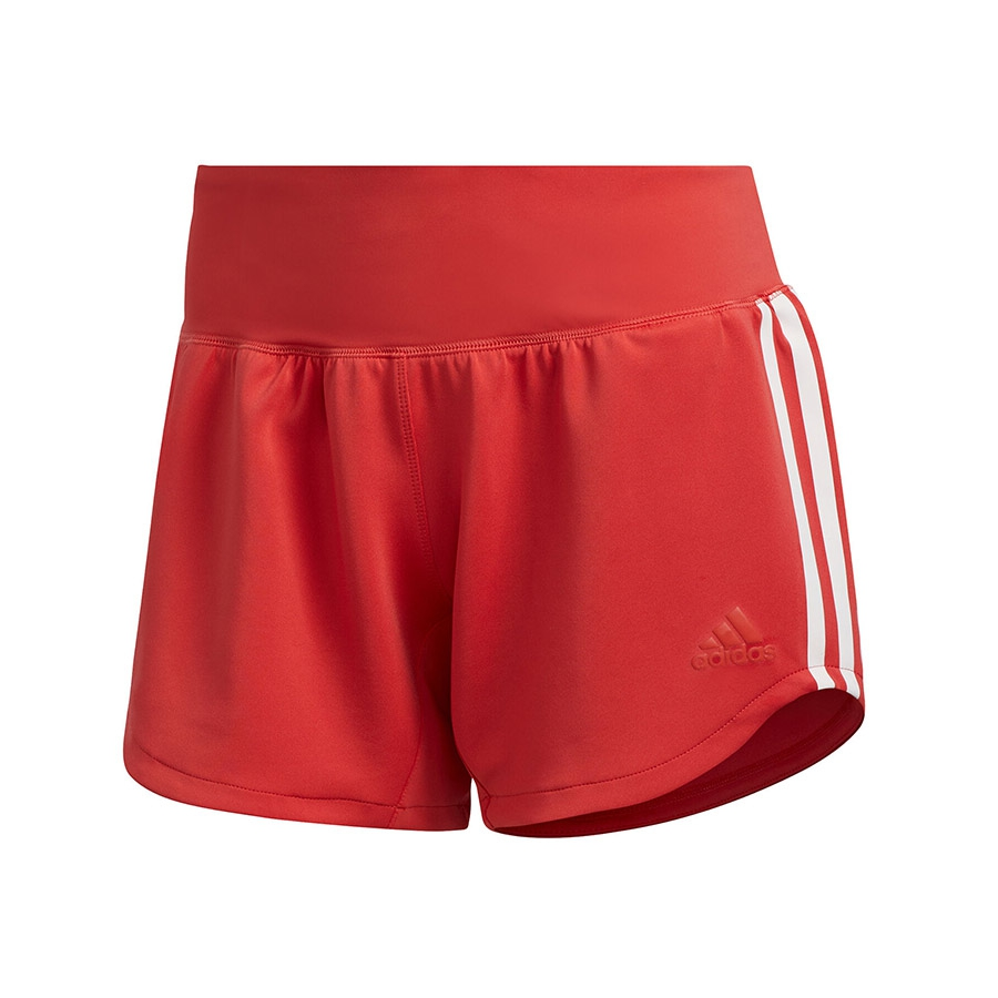 adidas 3-Stripes Woven Gym short dames roze/wit