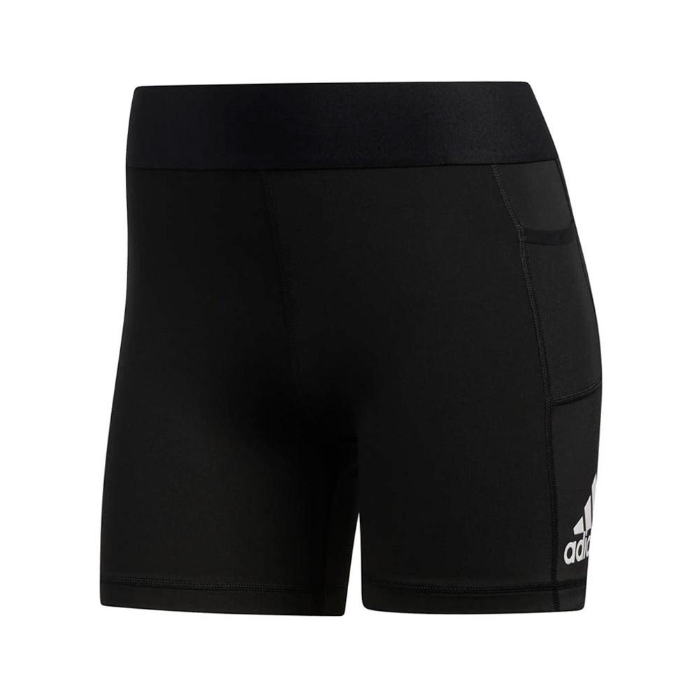 adidas Alphaskin Sport short dames zwart