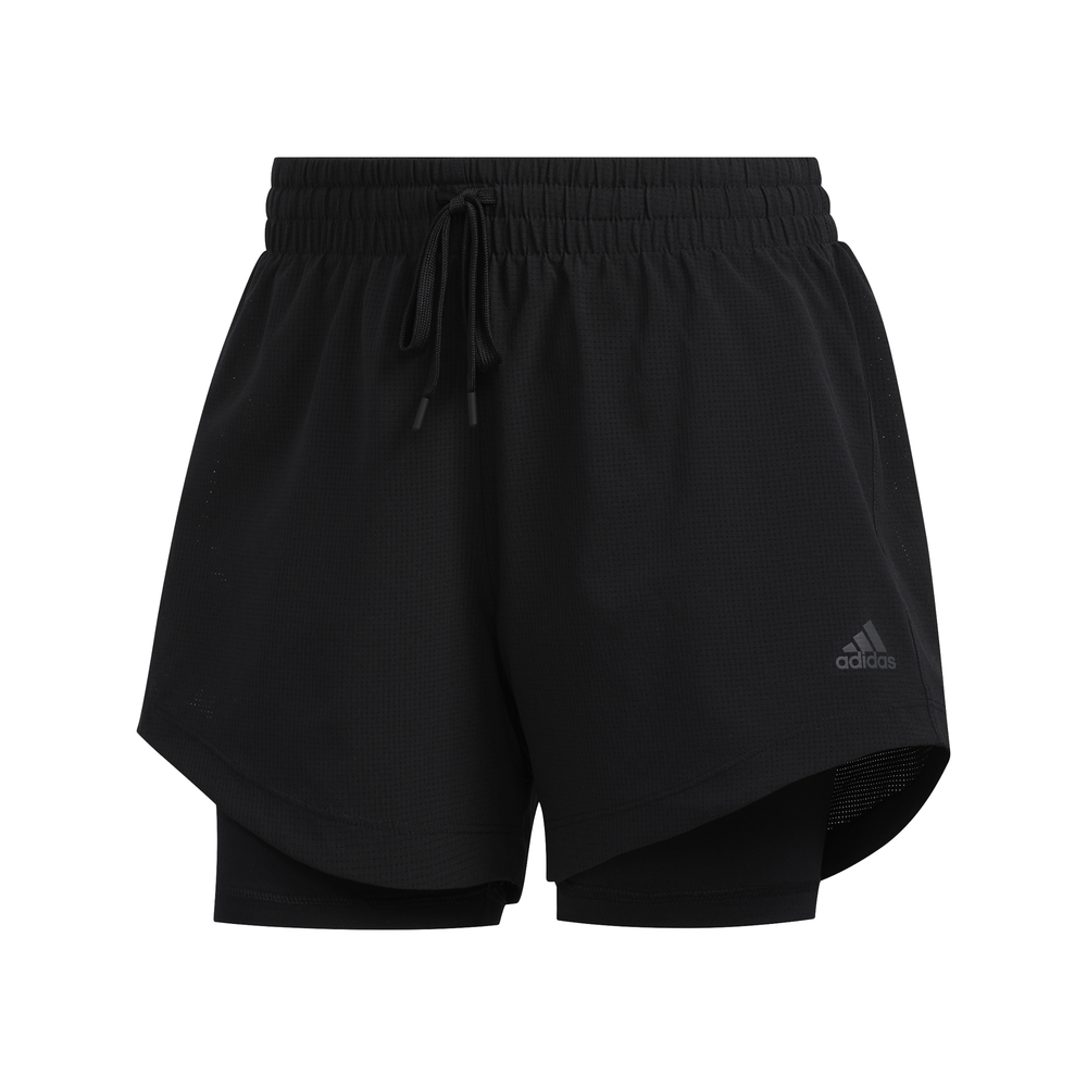 adidas 2-IN-1 Woven short dames zwart