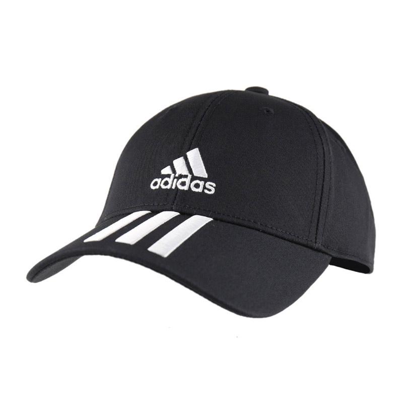 adidas Bball 3S cap zwart/wit