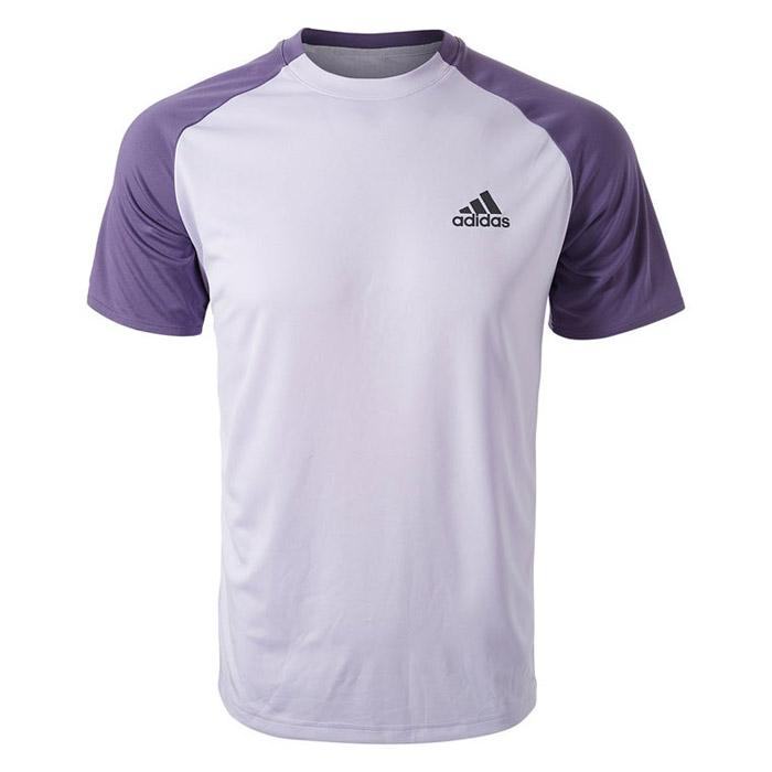 adidas Club Colourblock shirt heren lila paars