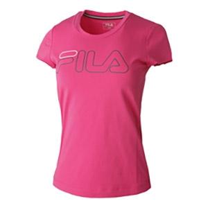 Fila Reni shirt dames roze/logo