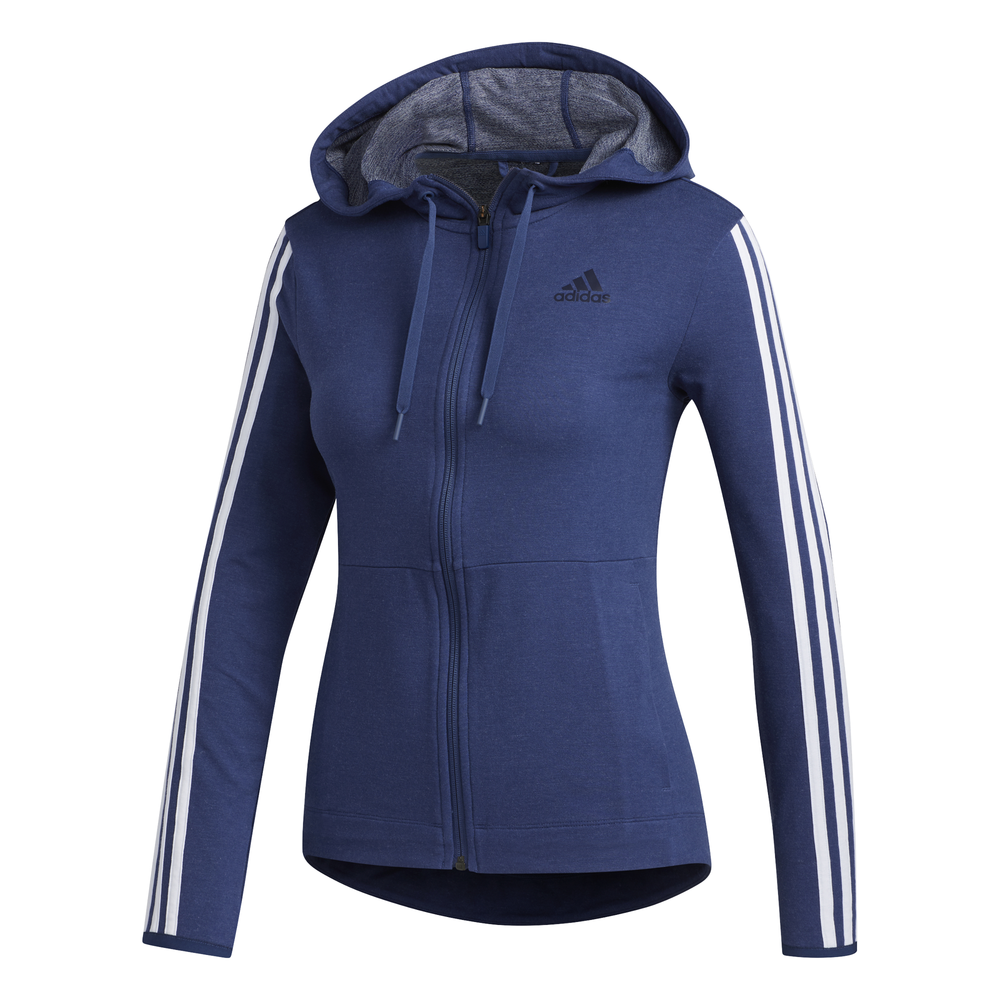 adidas 3 Stripes vest dames marine/wit
