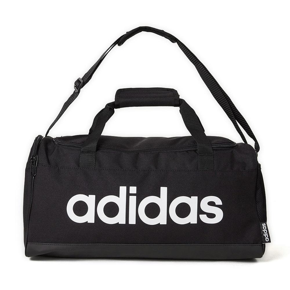 adidas Linear S sporttas unisex zwart/wit