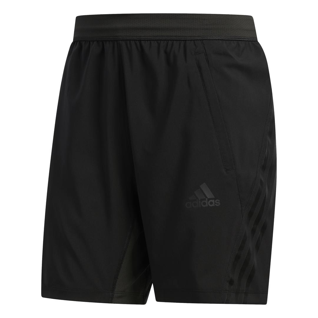 adidas Aero Ready 3-Stripes short heren zwart