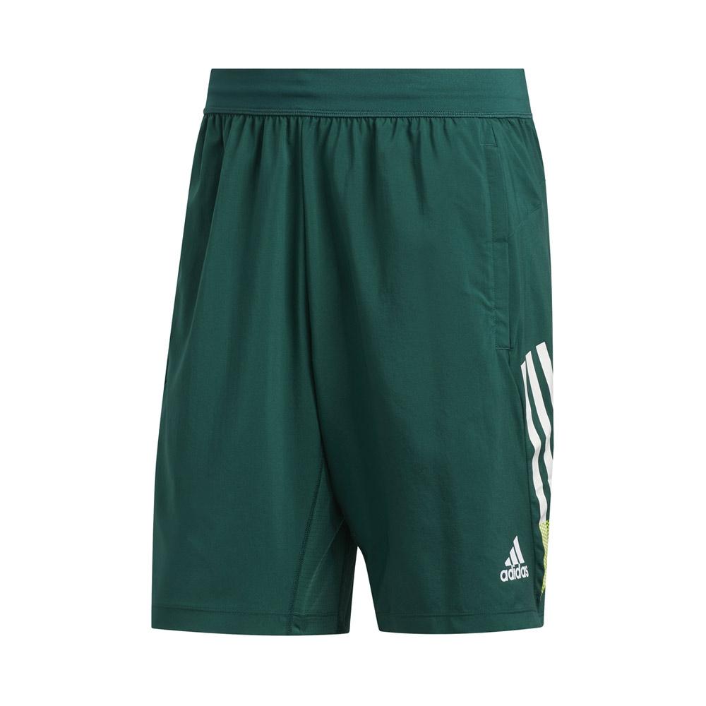 adidas 4K 9 inch short heren groen